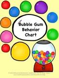 Bubble Gum Behavior Chart