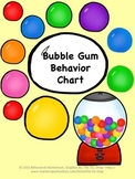 Bubble Gum Behavior Chart