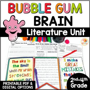 Bubble Gum Brain Literature Activities