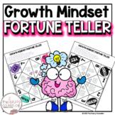 Bubble Gum Brain Growth Mindset Fortune Teller Extension Activity