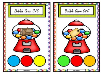 Bubble Gum CVC Cards