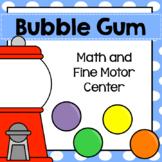 Bubble Gum Center Activities Pre-K Kinder Preschool