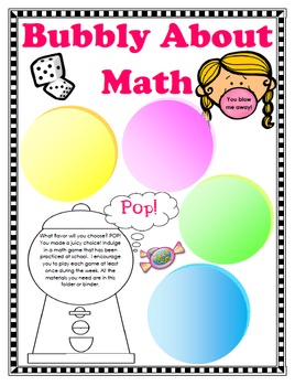 Bubble Gum Classroom Theme Pack