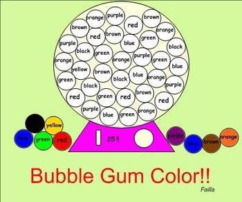 Bubble Gum Color