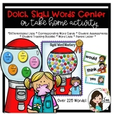 Bubble Gum (Dolch) Sight Words Center or Take Home Activity