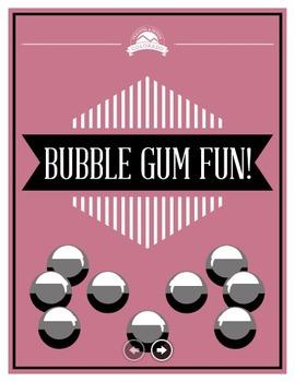 Bubble Gum Fun Lab - Scientific Method and Triple Beam Bal