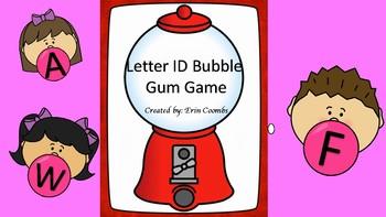Bubble Gum Letter ID Game