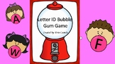 Bubble Gum Letter ID Game