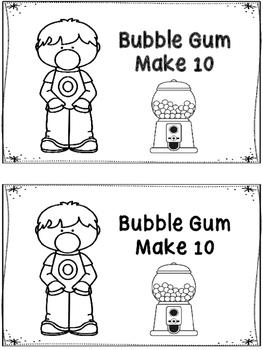 Bubble Gum Make 10 Booklet