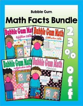 Bubble Gum Math Bundle