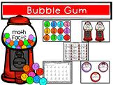 Bubble Gum Addition Math Facts