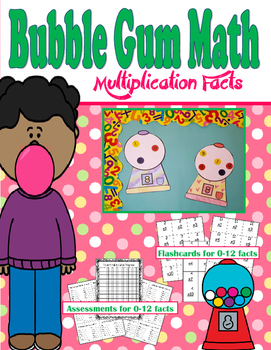 Bubble Gum Math Multiplication