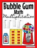 Bubble Gum Math Multiplication