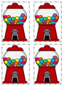 Bubble Gum Math Printables