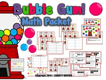 Bubble Gum Math Stations