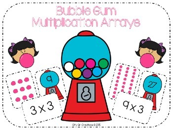 Bubble Gum Multiplication Arrays