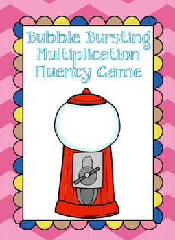 Bubble Gum Multiplication Game