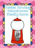 Bubble Gum Multiplication Game