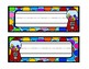 Bubble Gum Name Tags and Desk Tags