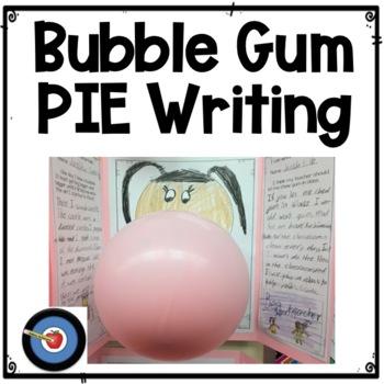 Bubble Gum PIE Writing