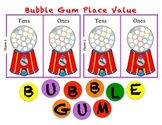 Bubble Gum Place Value - A Place Value Game to Practice Tens and Ones
