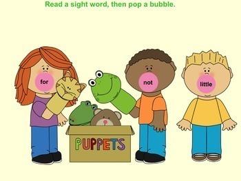 Bubble Gum Pop Pre-primer SMART Sight Words