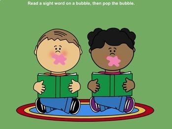 Bubble Gum Pop Primer SMART Sight Words