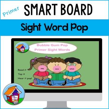 Bubble Gum Pop the (Primer) Sight Words