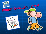 Bubble Gum Science Starter lab
