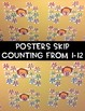 Bubble Gum Skip Counting Posters