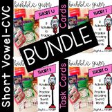 Bubble Gum Task Cards {CVC BUNDLE}