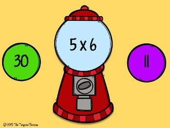 Bubble Gum Trouble: A Multiplication Fluency Game