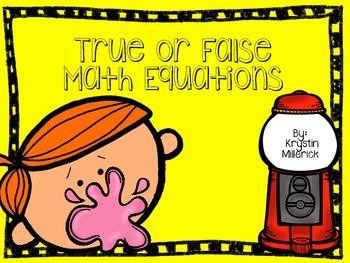 Bubble Gum True False Sort