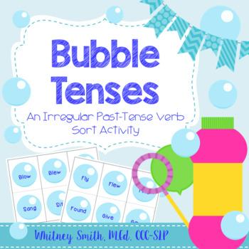 Bubble Irregular Verb Tenses