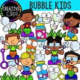 Bubble Kids {Creative Clips Clipart}