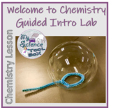 Bubble Lab - Intro to Chemistry Vocabulary and Lab Equipme