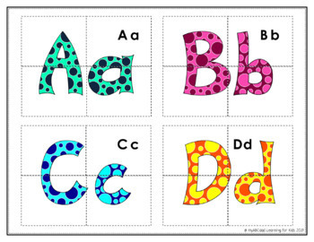 Alphabet Bubble Letter Puzzle Book