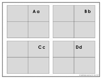 Color the Alphabet Bubble Letter Puzzle Book