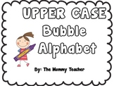Bubble Letter Alphabet {Upper Case}