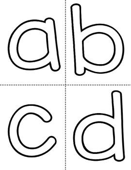 Bubble Letter Cards