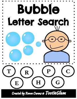 Bubble Letter Search