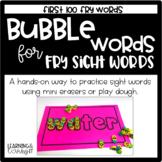 Bubble Words- Sight Word Word Work