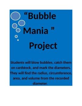 Bubble Mania Project