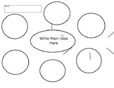 Bubble Map Template