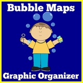 Bubble Map Template | Kindergarten 1st Grade | Graphic Organizer