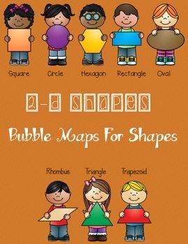2-D Shapes - Bubble Maps