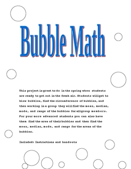 Bubble Math