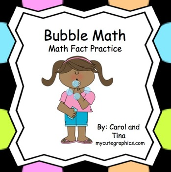 "Math Fact Practice with ""Bubble Math"" (Fast and Fun)"