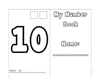 Bubble Number Book 1 - 10