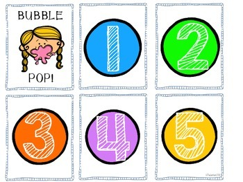 Bubble Pop! A Fast Paced Card Game (Numbers and Counting)